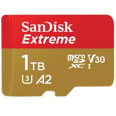 SanDisk выпустила microSD карту объемом 1 Тб