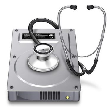 Форматирование диска Mac в Дисковой утилите